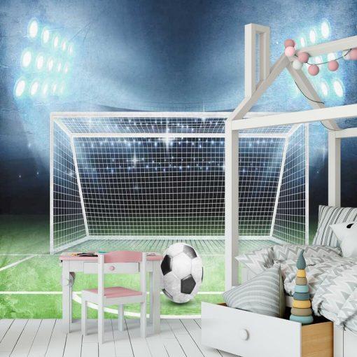 Tapeta dla ucznia - Piłka na murawie