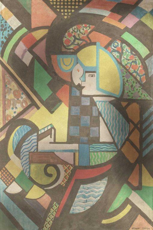 Tapeta H. Lyman Saÿen - obraz córwka w kołysce