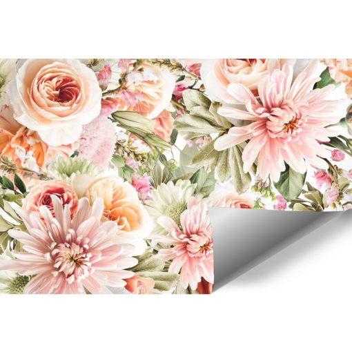 Tapeta z kwiatami