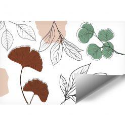 Tapety z motywami roślinnymi do ozdoby sypialni