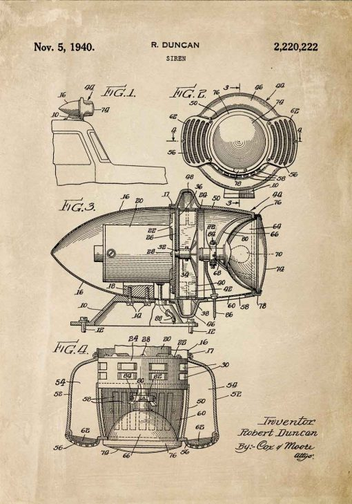 Patent na syrenę - Plakat