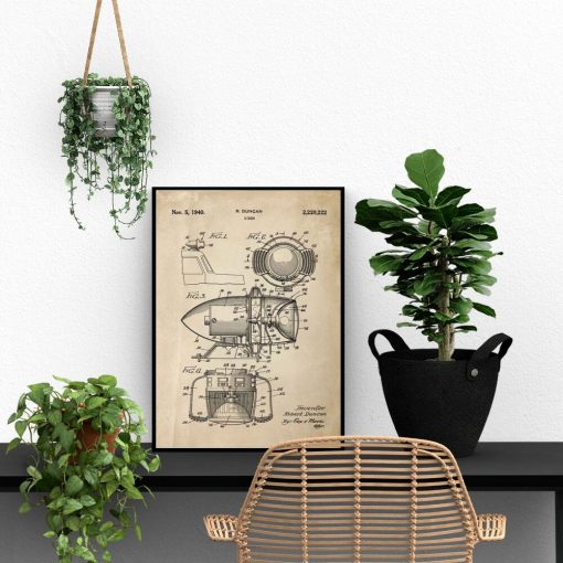 Patent na syrenę - Plakat do biura