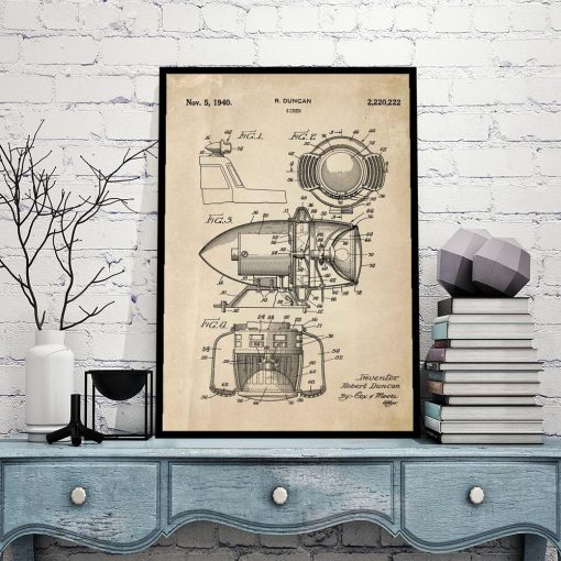 Patent na syrenę - Plakat do sypialni