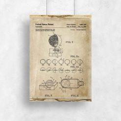 Plakat certyfikat na urządzenie astronomiczne
