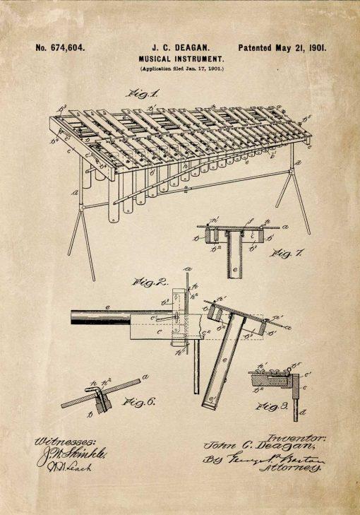 Plakat - Instrument muzyczny