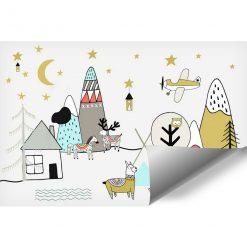 Foto-tapeta ze zwierzątkami dla dzieci
