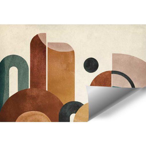 Tapeta z kolorową abstrakcją do pokoju
