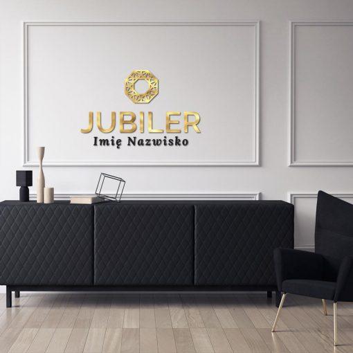 Jubiler - logo 3d z ornamentem
