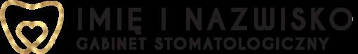 Logotyp 3d dla stomatologa z tematycznym elementem