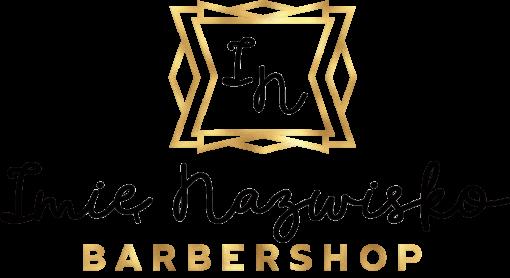 Logotyp przestrzenny 3d do barbershopu