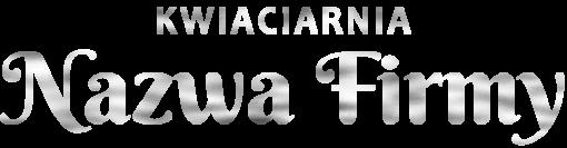 Spersonalizowany logotyp 3d dla kwiaciarni