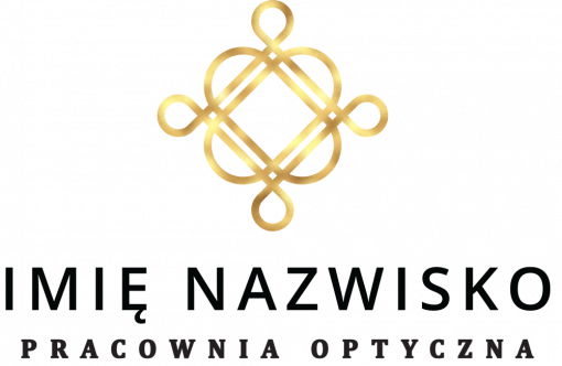 Trójwymiarowe logo do pracowni optycznej