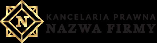 Trójwymiarowy logotyp dla kancelarii prawnej z ornamentem i literką