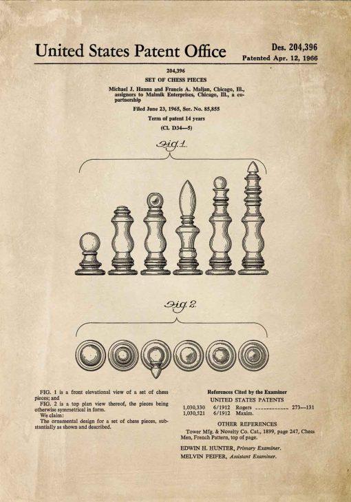 Plakat - Szachy