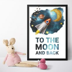 Plakaty dla dzieci z maksymą w języku angielskim