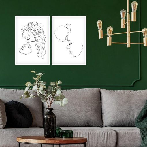 Plakaty minimalistyczne do oprawienia w ramę