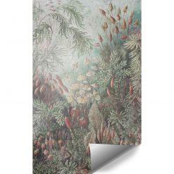 Tapeta z motywem leśnych roślin