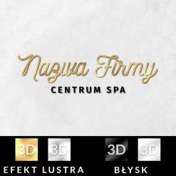 Centrum SPA - trójwymiarowy logotyp