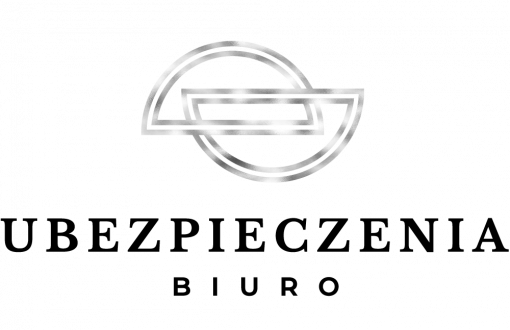 Logo 3d do biura ubezpieczeń z półkolami