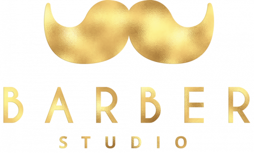 Logo 3d na ścianę dla barbera