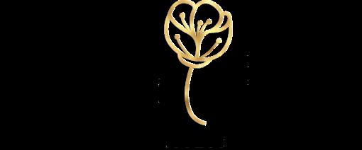Przestrzenny logotyp dla kwiaciarni