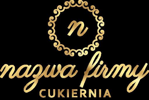 Trójwymiarowy logotyp dla cukierni