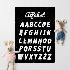 Plakat z abecadłem
